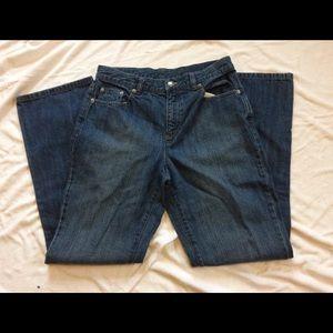 Lauren Ralph Lauren Dark Wash Blue Jeans 6P 6 P
